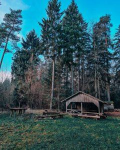Die Jagdhütte