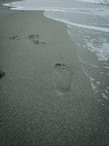 Meeresrauschen für die Füße